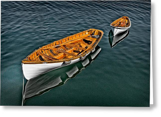 Schooner Greeting Cards - Boats 2 Greeting Card by Fred LeBlanc