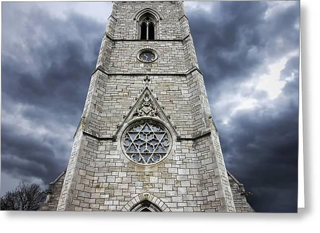 bodelwyddan church Greeting Card by Meirion Matthias