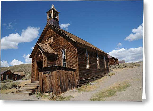 Ghost Town Greeting Cards - Bodie 011 Greeting Card by Earl Bowser