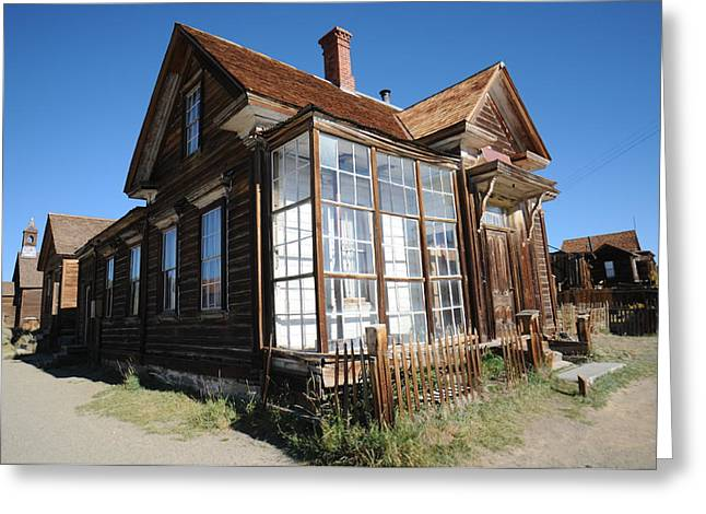 Ghost Town Greeting Cards - Bodie 02 Greeting Card by Earl Bowser