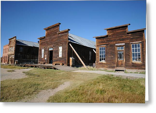 Ghost Town Greeting Cards - Bodie 03 Greeting Card by Earl Bowser