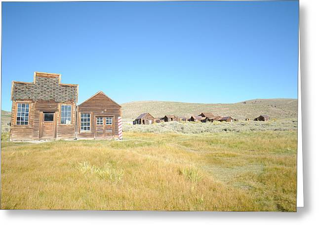 Ghost Town Greeting Cards - Bodie 04 Greeting Card by Earl Bowser
