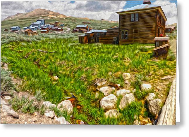 Gregory Dyer Greeting Cards - Bodie Ghost Town - 02 Greeting Card by Gregory Dyer