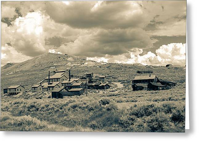 Bodie Greeting Cards - Bodie Ghost Town California Gold Mine Greeting Card by Scott McGuire