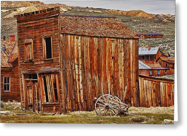 Bodie Ghost Town Greeting Card by Garry Gay