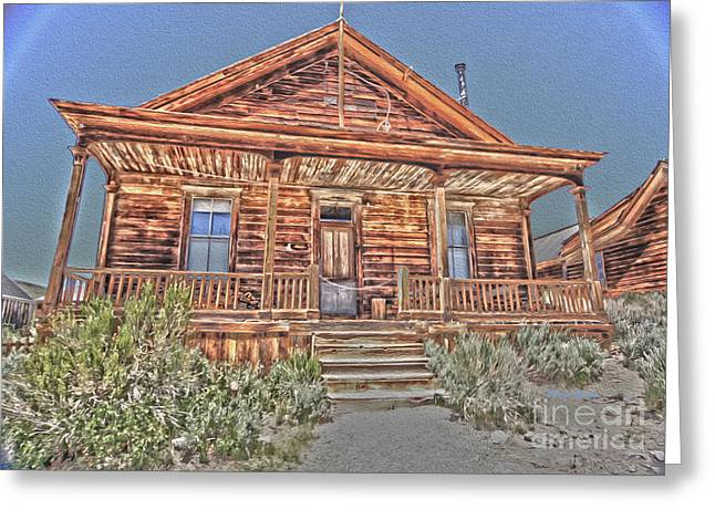 Bodie Images Greeting Card by Cheryl Young