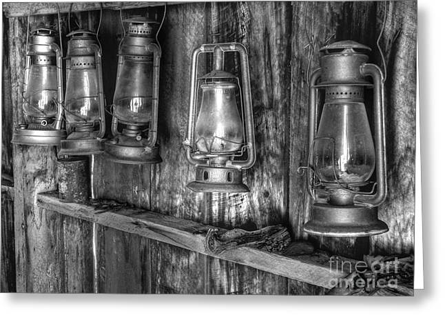 Bodie Greeting Cards - Bodie Lanterns Greeting Card by Scott McGuire