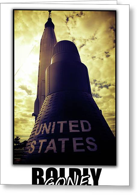 The Right Stuff Greeting Cards - Boldly gone Murcury Greeting Card by Alyx Mitchell