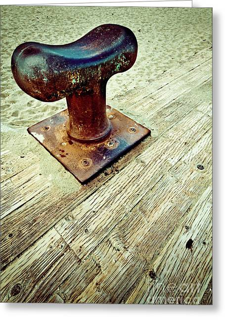 Bollard Greeting Cards - Bollard Greeting Card by Emilio Lovisa