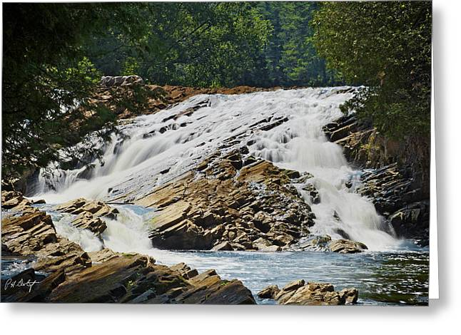 Bedrock Greeting Cards - Bonnechere Falls Greeting Card by Phill  Doherty