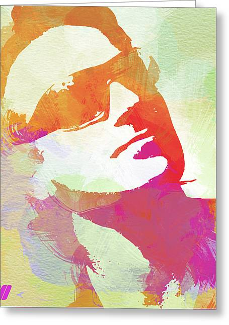 Bono Greeting Card by Naxart Studio