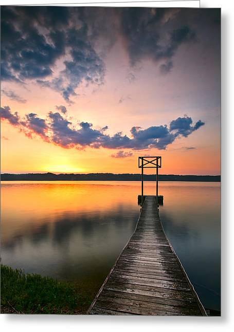 Booker T. Washington Greeting Cards - Booker T Dock 1 Greeting Card by Steven Llorca
