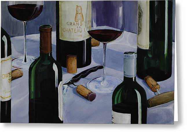 Bordeaux Greeting Card by Geoff Powell