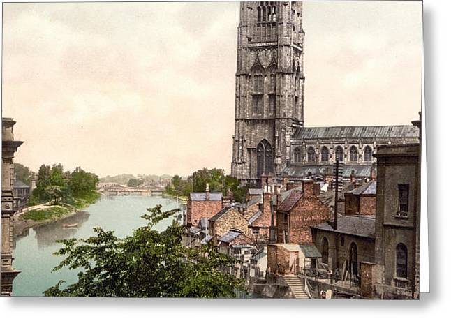 Boston - England Greeting Card by International  Images