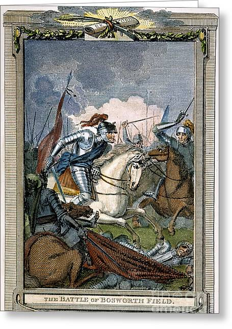 1485 Greeting Cards - Bosworth Field Greeting Card by Granger