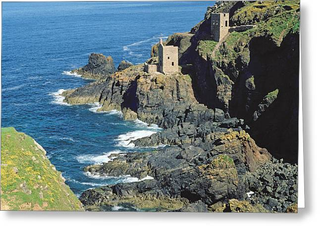 Botallack Mine Greeting Card by Botallack Mine
