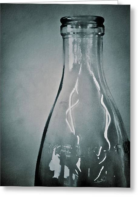 Photography Lightning Greeting Cards - Bottle Of Light Two Greeting Card by Odd Jeppesen