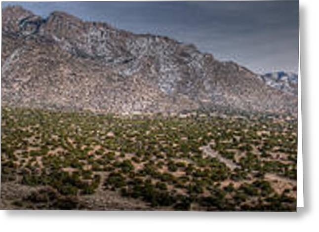Rincon Greeting Cards - Boundary Loop Panoramic Greeting Card by Aaron Burrows