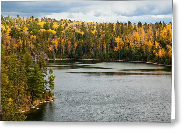 Minnesota Photographs Greeting Cards - Boundary Waters Overlook Greeting Card by Adam Pender