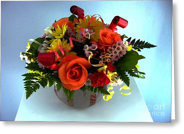 All Ford Day Greeting Cards - Bouquet Greeting Card by Dale   Ford