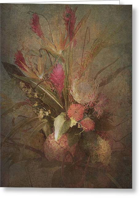 Bouquet Greeting Card by Jeff Burgess