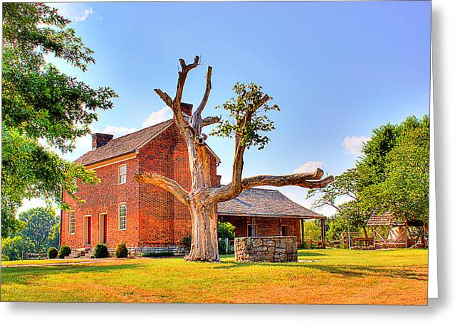 Bowen Plantation House 003 Greeting Card by Barry Jones