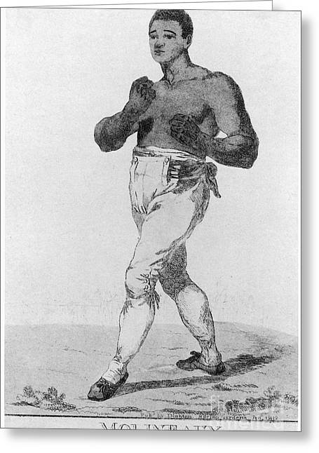 Molineaux Greeting Cards - Boxing: Thomas Molineaux Greeting Card by Granger