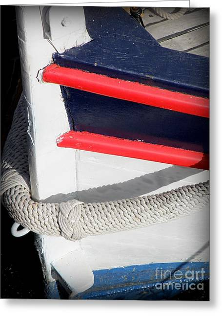 St.tropez Greeting Cards - Braided Bumper Greeting Card by Lainie Wrightson