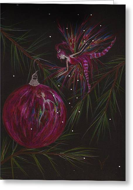Pine Needles Drawings Greeting Cards - Branch Balance Greeting Card by Dawn Fairies