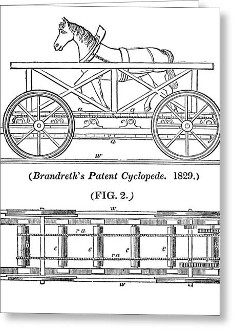 Liverpudlian Greeting Cards - Brandreths Cyclopede Greeting Card by Science, Industry & Business Librarynew York Public Library