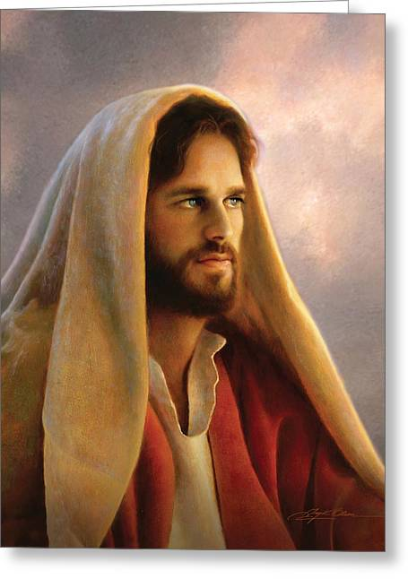 Shepherds Greeting Cards - Bread of Life Greeting Card by Greg Olsen