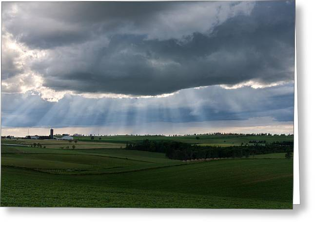 Princes Greeting Cards - Break in the Storm Greeting Card by Matt Dobson