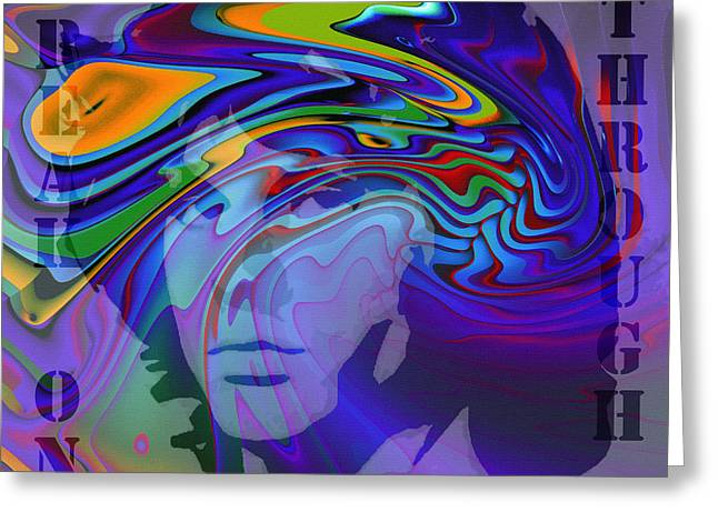 Immortals Greeting Cards - Break on Through Two Greeting Card by Stefan Kuhn