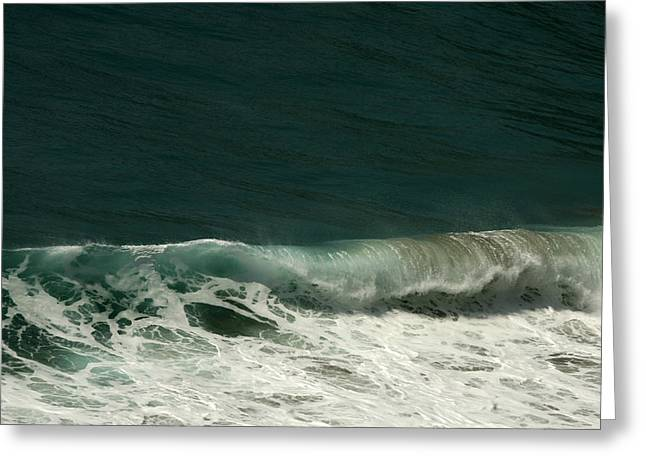 Big Sur Ca Greeting Cards - Breaker Greeting Card by Gregory Scott