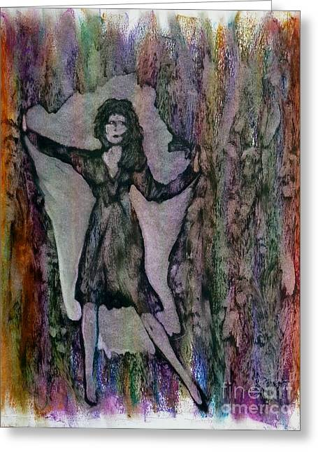 Liberation Greeting Cards - Breakout Greeting Card by Linda May Jones