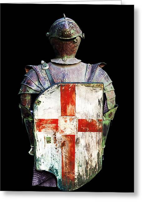 Up-armored Greeting Cards - Breastplate Greeting Card by Fabrizio Troiani