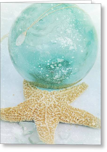 Fine Jewelry Greeting Cards - Breathe  . . .   like water Greeting Card by Sharon Mau