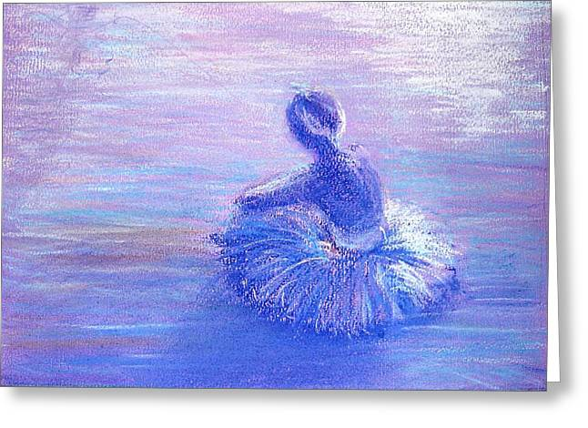 Pause Pastels Greeting Cards - Breathing Space Greeting Card by Regina Levai