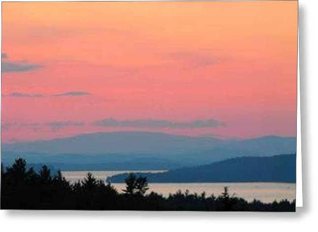 """sunset Photographs"" Greeting Cards - Breathtaking Greeting Card by Darlene Keeffe"