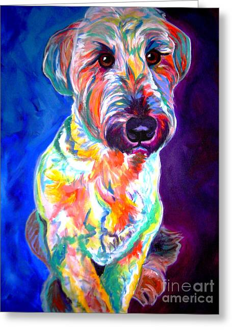 Alicia Vannoy Call Greeting Cards - Briard - Albert Greeting Card by Alicia VanNoy Call