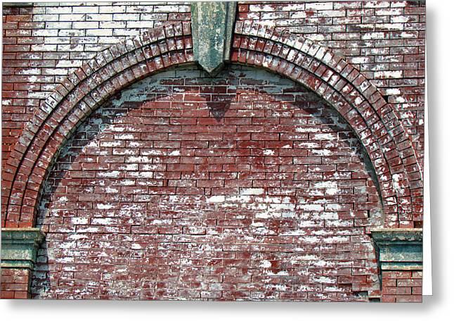 Brick Arch Greeting Card by Marie Jamieson
