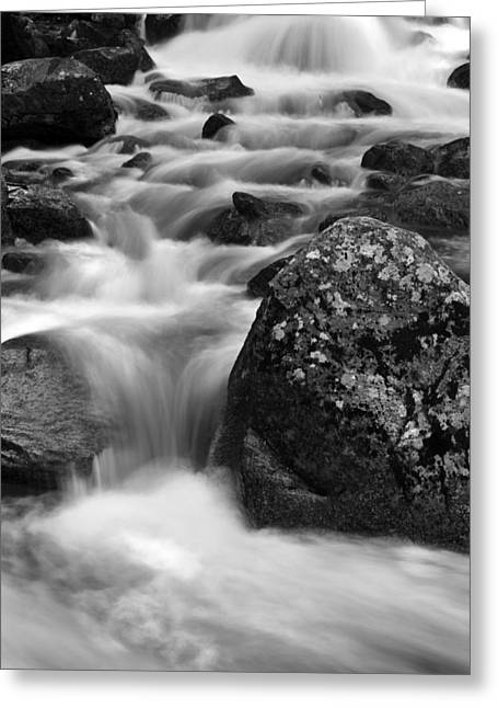 Bridalveil Falls Greeting Cards - Bridalveil Creek Greeting Card by Rick Berk