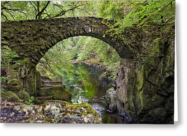 The Hermitage Greeting Cards - Bridge at the Hermitage Greeting Card by Jim Dohms