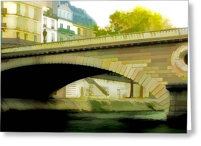 Bridge Greeting Card by Photography Art