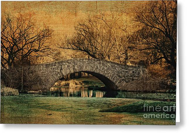 New York Newyork Digital Greeting Cards - Bridge from the Past Greeting Card by Nishanth Gopinathan