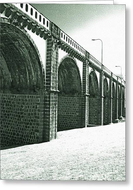 Bridge In Ribeira Grande Greeting Card by Gaspar Avila