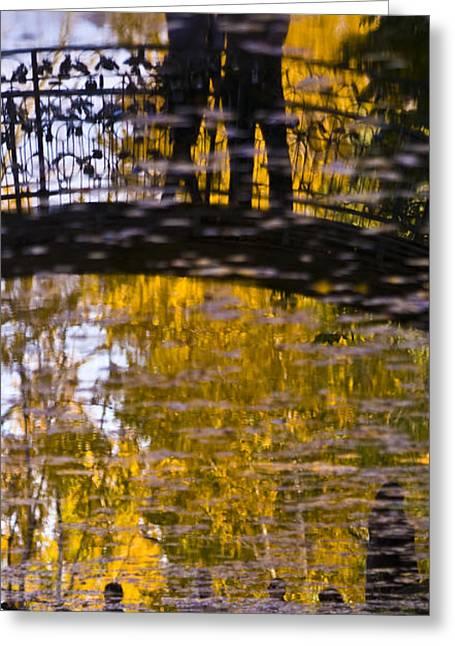 Bridge Of Love Greeting Card by Andrew Shlykoff