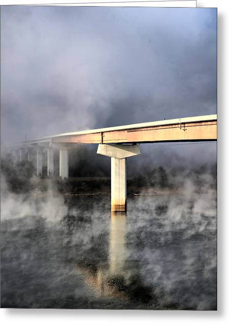 Tn Greeting Cards - Bridge on the Tennessee River Greeting Card by Edward Myers