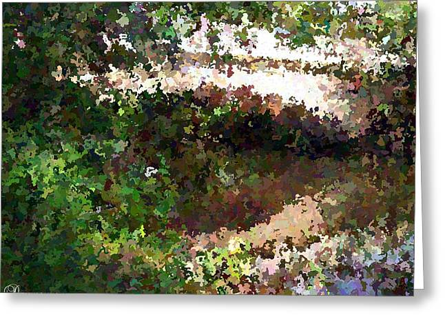 Famous Bridge Mixed Media Greeting Cards - Bridge Over Still Waters Painting Greeting Card by Dawn Hay