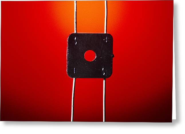 Direct Current Greeting Cards - Bridge Rectifier Greeting Card by Andrew Lambert Photography